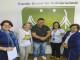 Entrega dos leites arrecadados no Concurso de Bolsas 2018
